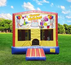 happy birthday bounce house rentals