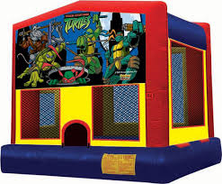 ninja turtle bounce house rental